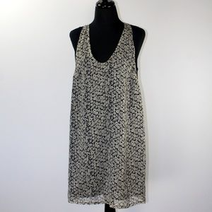 JCrew Floral Silk Tunic Dress, 8